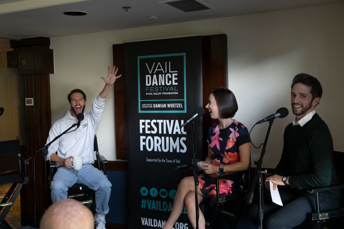 "Conversations on Dance with ""The Cindies"" Isabella Boylston & James Whiteside"